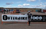 Ashley Korenblatt of Western Spirit was pleased with the turnout for Outerbike 2011.  Photo: Beth Runkle