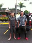 Alex Grant (left) and Ben Sonntag.