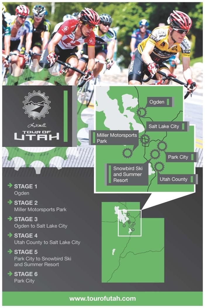 Larry H. Miller Tour of Utah Announces Host Cities