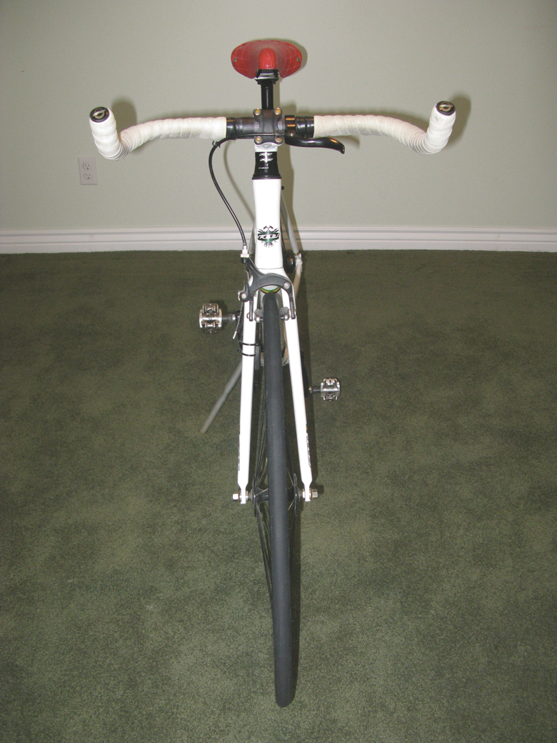 Time-trial bicycle