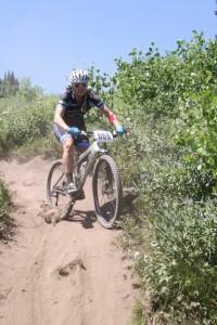 Erica Tingey balances life and mountain bike racing.