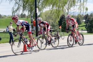 Junior rider TJ Eisenhart Racing 2012 Sugarhouse Criterium