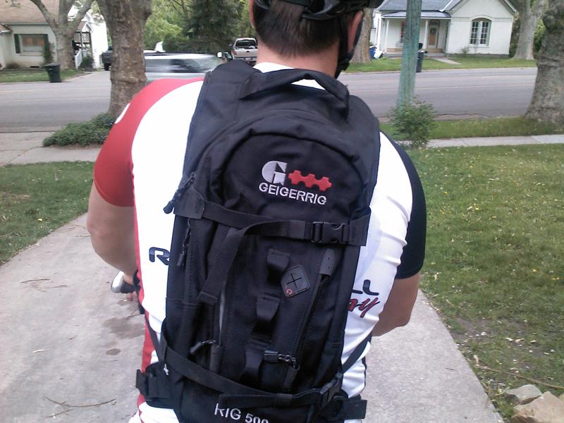 RIG 500 Ballistic pack.