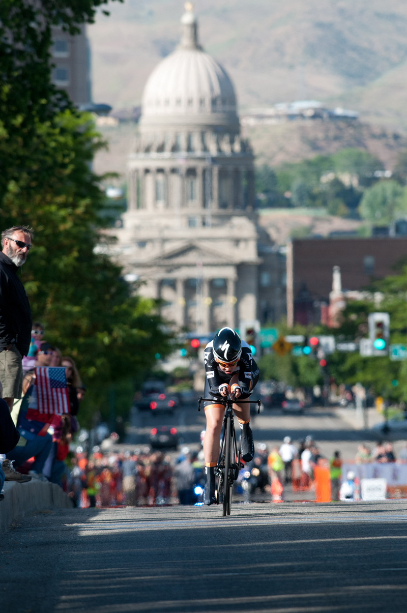 The prologue in downtown Boise.
