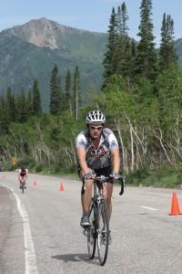 Bicycle Riding Big cottonwood Canyon