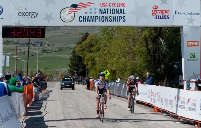 Cortlan Brown Wins Collegiate National Road Race