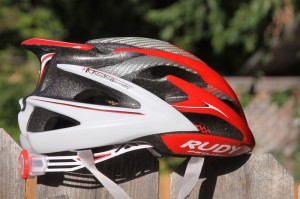 Rudy Project's Windmax Helmet is light, well-fitting, and stylish.
