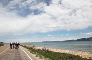 Great vistas await when riding around Bear Lake.