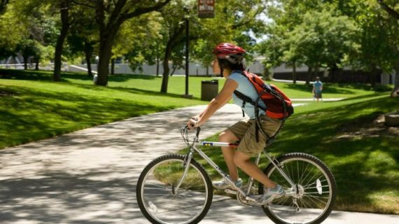 August 30 is Bike to the University of Utah Day 2012