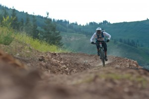 Canyons Resort in the inaugural Wasatch Enduro