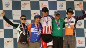 Pro Men podium at Marathon Nationals.