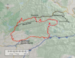 Downieville_map