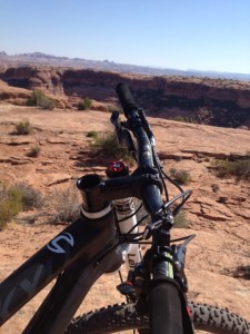 Riding the Jekyll in Moab