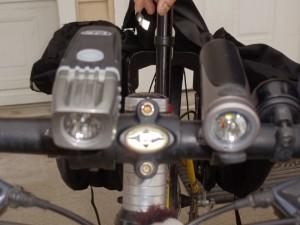 NiteRider 600 Right: Light & Motion Urban 500
