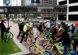 Utah Bicycle delegation