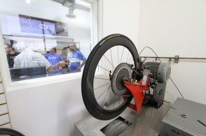 ENVE's new machine for testing heat dissipation.