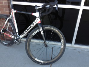 The ENVE 45's are a solid choice for road or cross.