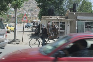 The Bicycling Bookseller of Kabul.