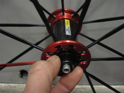 Bicycle Wheel Axle/bearing check