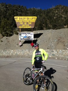 Jeremiah and I rode up to Mt. Baldy, he was on a Flash while I enjoyed my Evo