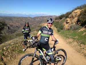We got in some great training rides at team camp