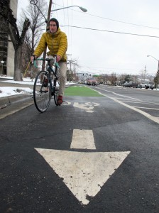 protected bikeway in Salt Lake City