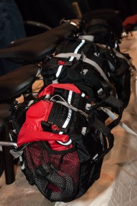 EO Gear's seat bag has extra capacity for randonneuring