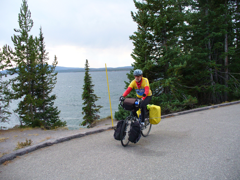 Western shoreline of Yellowstone Lake.