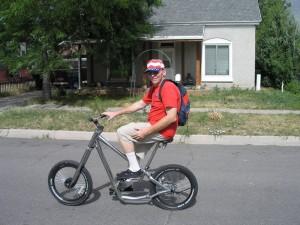 Douglas Crow -  RIP Bike Rider