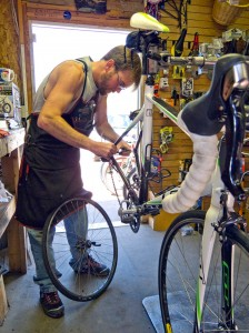 Johnny-Mack Barlow is the owner of The Bike Guy