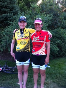 Nicky Wangsgard and Tiffany Pezzulo, Primal Pro Women's Cycling Team
