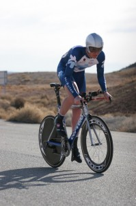Cody Haroldsen (Ski Utah - Marketstar) won the time trial and held on to win the overall St. George UT, Tour del Sol