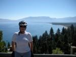On switchbacks up to Emerald Bay overlook