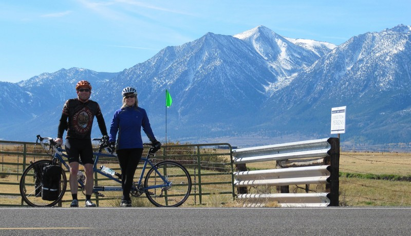 overnight tandem tour in the Sierras