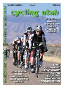 Cover: The field is strung out in the road race of the Tour del Sol on March 24th in St. George. See the story on page 16. Photo: Shawn Kirton. Find more photos at  ellisprophoto.com