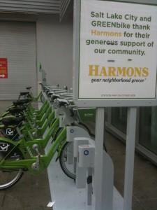 GreenBike Bike Share opened in Salt Lake City on April 8, 2013.