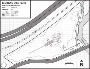 Map Morgan Utah Bike Park