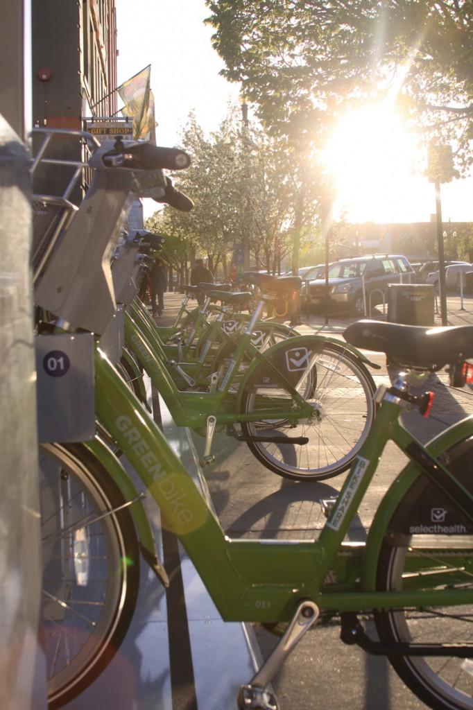 Greenbike bike share in Salt Lake City just launched.