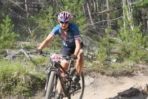 Bozeman's Ivy Pederson won the 2013 Butte 50 women's race.