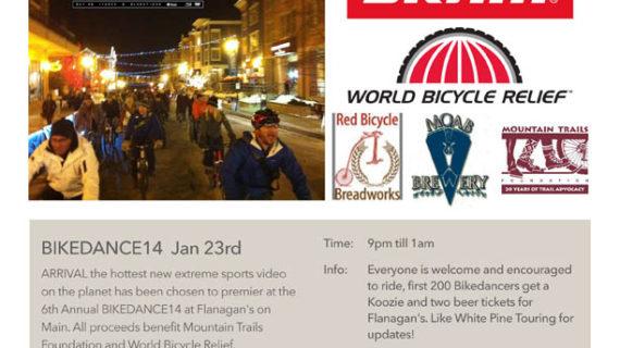 BikeDance14 Film Festival will be Held in Park City on January 23, 2014