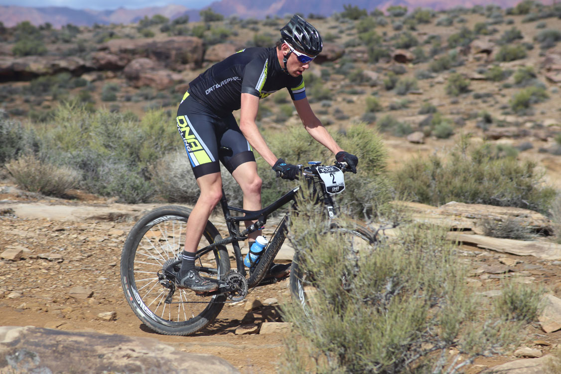 Bryson Perry on his way to winning the 2014 Desert Rampage Intermountain Cup Race on March 1, 2014. Photo: Bryce Pratt, find your race photo at