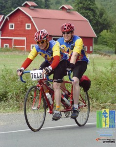 David Ward and Kimball Ward in the STP. Photo: MarathonFoto.com