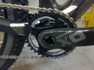 SRAM XO1 Crank and Chainring.