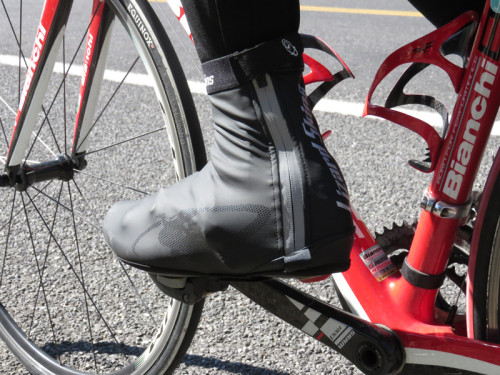 Lizard Skins Dri-Fiant Shoe Cover is a perfect for fall and winter weather.