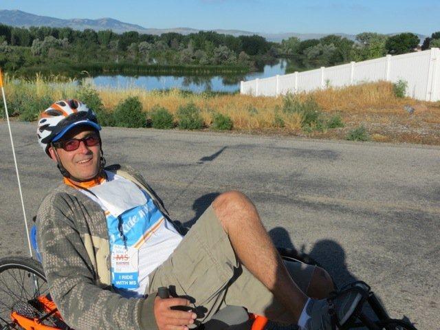"""I Ride with MS"" Bike MS 2014 participant Jason Maestes, photo by XOTIO.com"