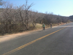 Cyclists and motorists both need to do their part to reduce conflict in Emigration Canyon. Here, 3 cyclists decend Emigration. Photo: Dave Iltis