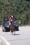 Chase Pinkham in the prologue of the 2011 Tour of Utah, photo 4. Photo by Dave Iltis