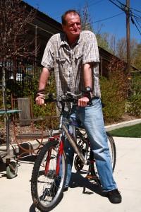 Robert Quillen, 58, is part of the rehabilitation program at Catholic