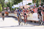 Chase at the finish of Stage 4 of the 2011 Tour of Utah. Photo by Dave Iltis