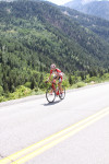 Chase Pinkham on the road to Snowbird in the 2011 Tour of Utah. Photo by Dave Iltis